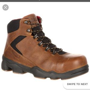 Rocky Waterproof Work Hiker Boots